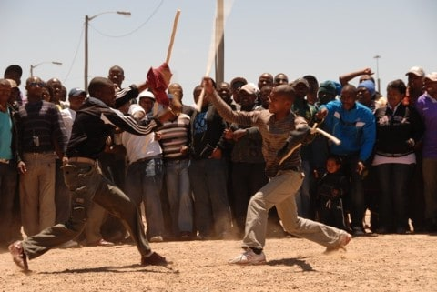 NGUNI STICK FIGHTING, SOUTH AFRICA