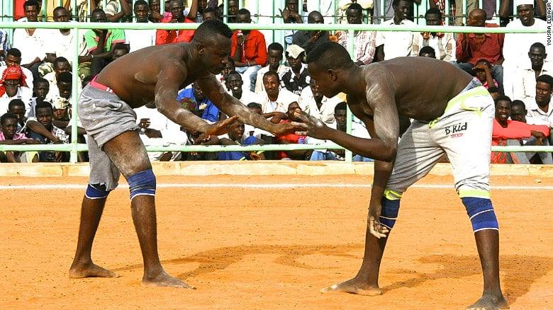 NUBA FIGHTING, SUDAN
