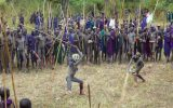 SURMA STICK FIGHTING, ETHOPIA